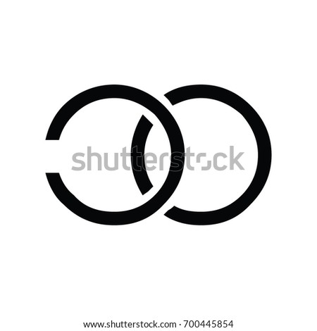 Letters C O C O Company Stock Vector 700445854 Shutterstock