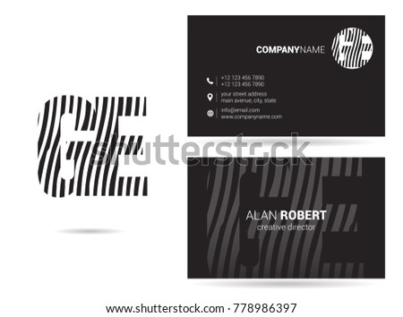 letters g e logo icon business stock vector 2018 778986397