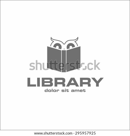 Library - stock vector