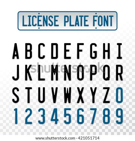 Letter License Plate Ideas