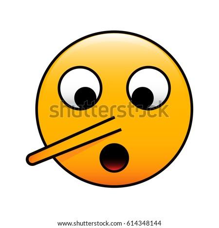Long nose emoji