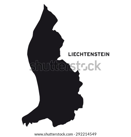 Liechtenstein map vector