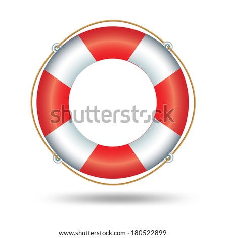 Life Ring  - stock vector