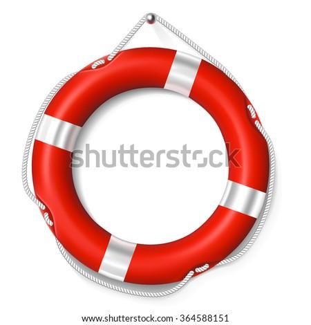 Lifebuoy - stock vector