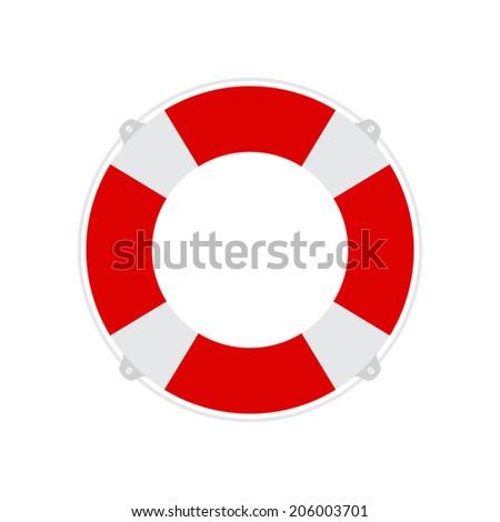 Lifebuoy icon - Vector - stock vector