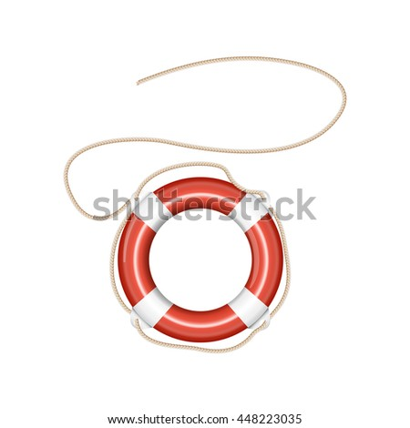 Lifebuoy vector icon