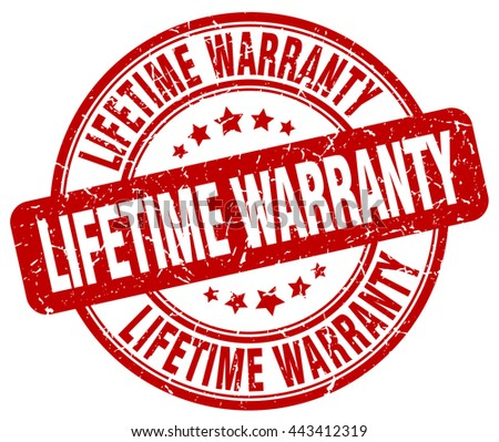 lifetime warranty red grunge round vintage rubber stamp.lifetime warranty stamp.lifetime warranty round stamp.lifetime warranty grunge stamp.lifetime warranty.lifetime warranty vintage stamp. - stock vector