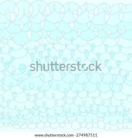 Light abstract hand drawn knit background. Seamless pattern. - stock vector