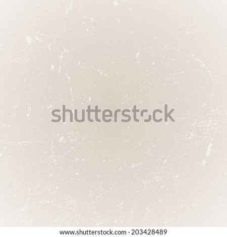 Light Beige Distressed Texture for your design. EPS10 vector. - stock vector