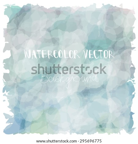 Light blue green tone with retro vintage style and isolate on white background in summer.Love hipster wedding card - stock vector