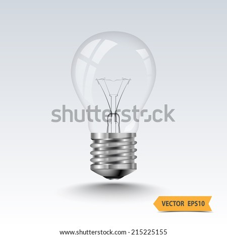 Light bulb,vector