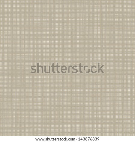 Light canvas texture, vector background - stock vector
