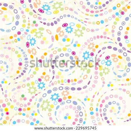 Light cheerful dots