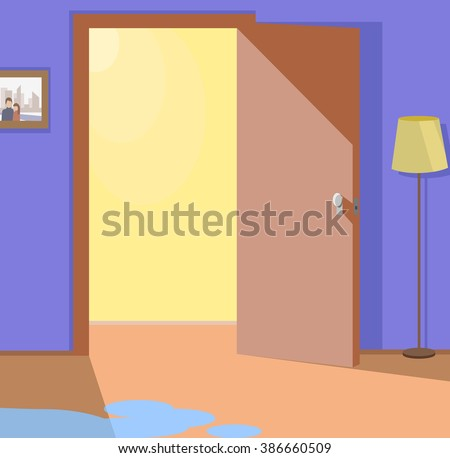 Open Door Welcome Clipart empty pool stock vectors & vector clip art | shutterstock