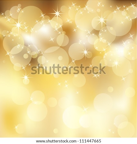 Light gold abstract background - stock vector