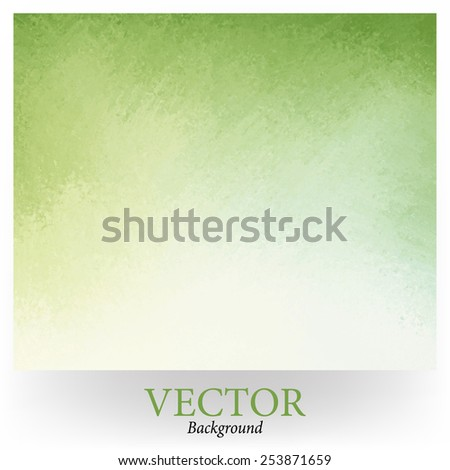 light green background vector with white gradient into darker spring green grunge design border texture with soft lighting  - stock vector