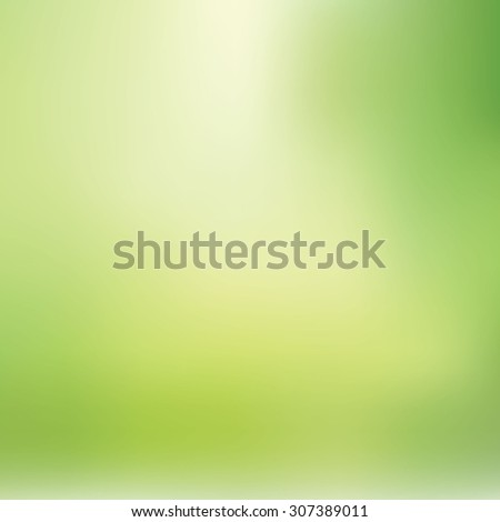 Light Green Blurred Background - stock vector