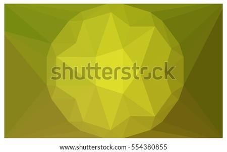 Vector Backdrop Badge Hexagon Geometric Triangle Stock Vector ...