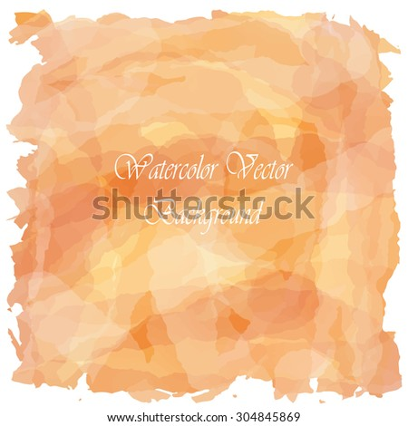 Light love orange tone vintage background - stock vector