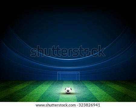 light of stadium vector design - stock vector