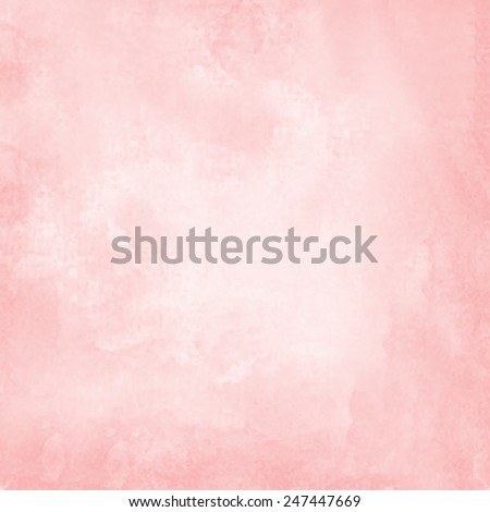 light red watercolor paper background - stock vector