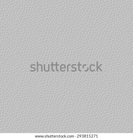 Light seamless vector leather texture background pattern - stock vector
