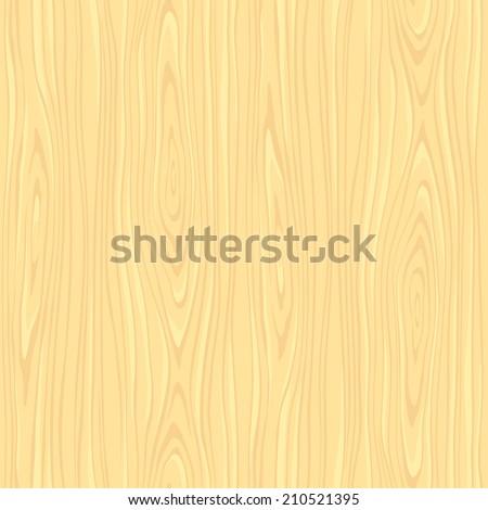 Light seamless woodeen texture in vector - stock vector
