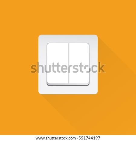 Light Switch Stock Vector 551744197