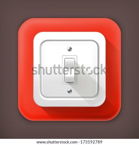 Light Switch Vector Stock Vector 85890496 - Shutterstock