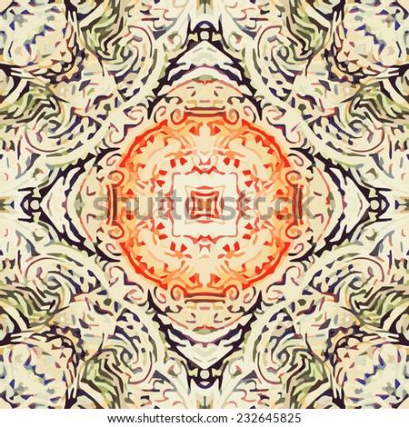 light terracotta tile pattern