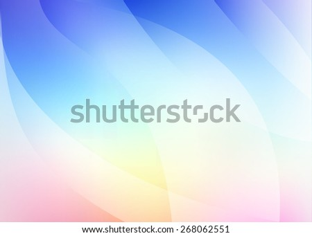 light vector background in blue, pink with waves