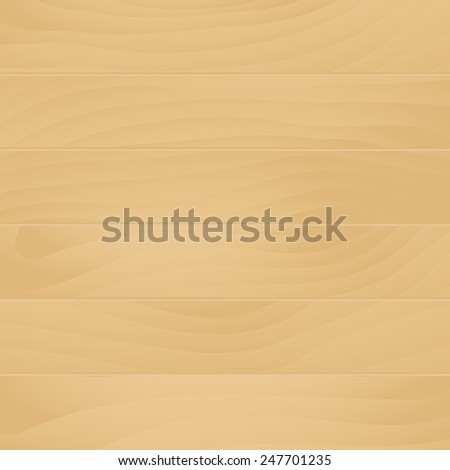Light wood background, vector illustration - stock vector
