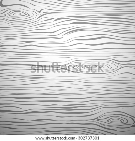Light wooden cutting board or table deck. Wood texture - stock vector