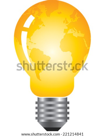 Lightbulb - stock vector