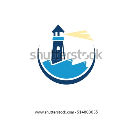 Lighthouse Logo Stock Images, Royalty-Free Images & Vectors ...