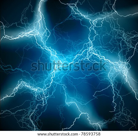 Lighting flash vector background texture - stock vector