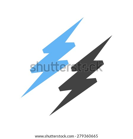 Lightning, electric, thunder icon vector image. Can also be used for energy and technology. Suitable for web apps, mobile apps and print media.
