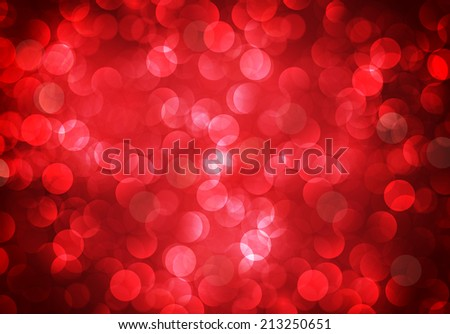 Lights on red background. - stock vector