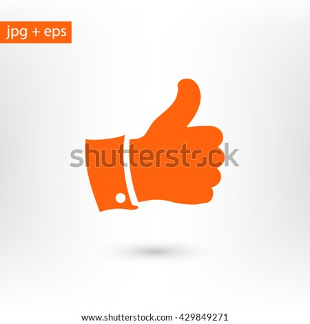 Like icon - stock vector