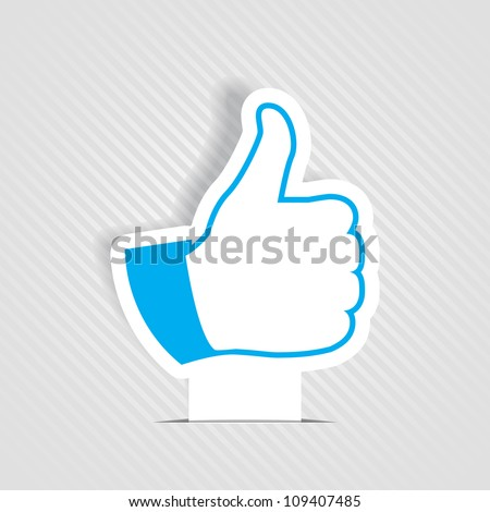 Like symbol - stock vector