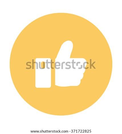 Like Vector Illustration - stock vector