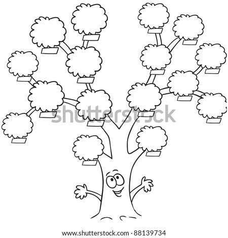 Нарисовать свое генеалогическое древо ребенку 5 класс