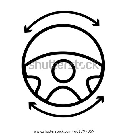 sterring wheel stock images  royalty
