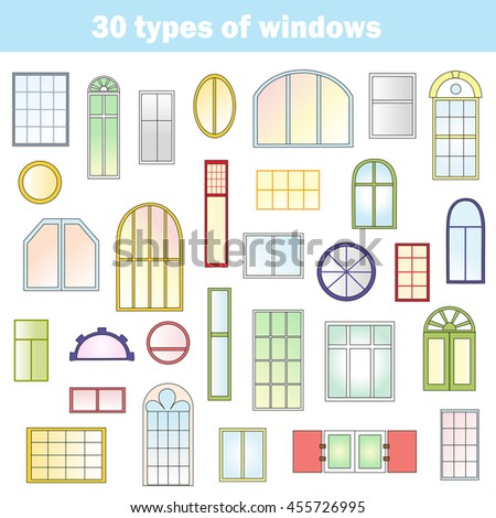 window types and names uk