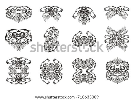 Medieval Heraldic Elements Knightly Emblems 21624 Vector Clipart in addition Wilkinson furthermore Stock Vector Horse Head Vector Illustration furthermore Heraldic Silhouette No39 Vector 3497025 moreover Royals 01. on unicorn heads in heraldry