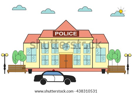 Police station clipart  Police Station Sign Stock Images, Royalty-Free Images & Vectors ...
