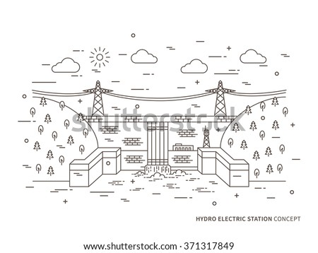 hydroelectric stock images  royalty