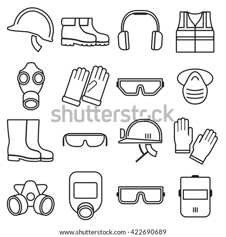 Safety Boots Stock Vectors & Vector Clip Art | Shutterstock