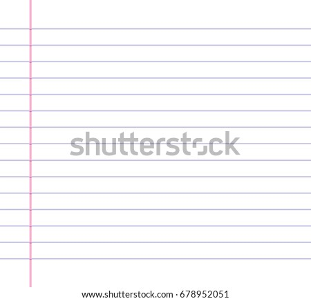 Lined Ruled Paper Background Blue Horizontal Stock Photo (Photo ...