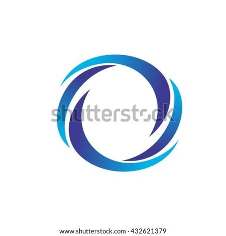 Lines Logo design - stock vector